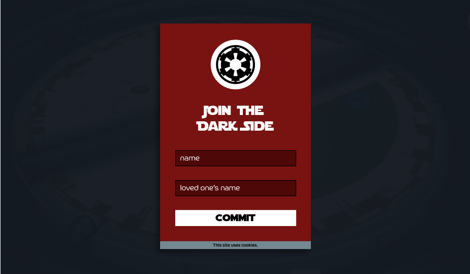 001_SignUp_StarWarsDarkSide
